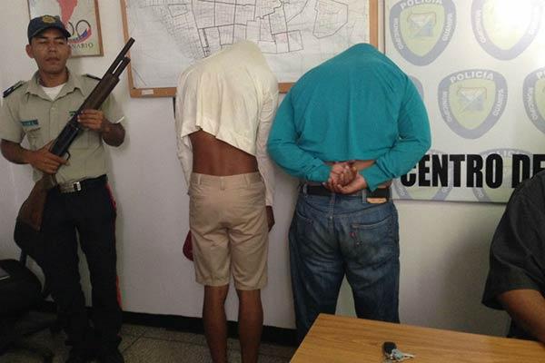 El policía fue puesto al a orden de la Físcalía | Foto: Marinelid Marcano / El Pitazo