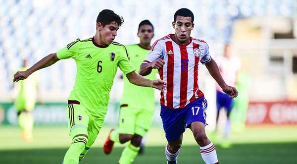 Vinotinto sub 17 cayó 3-1 ante Paraguay en el hexagonal del Sudamericano | Foto: Agencias