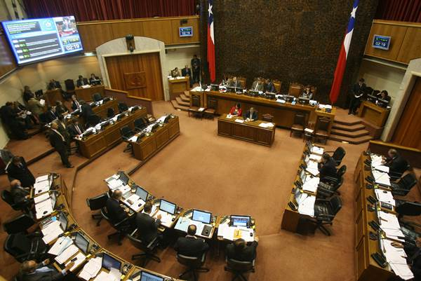 Senado chileno | Foto referencial