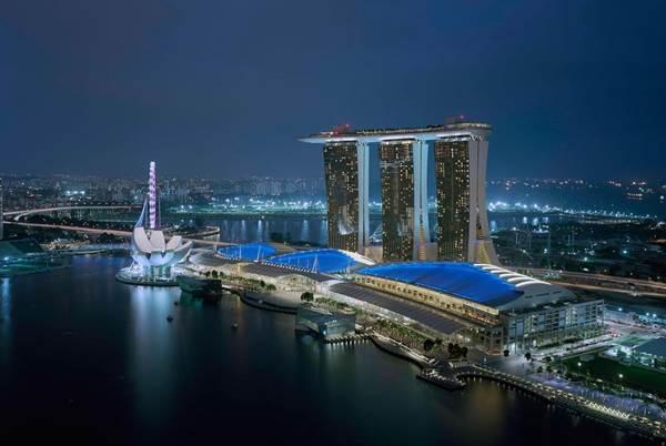 Marina Bay Sands en Singapur | Foto: Agencias