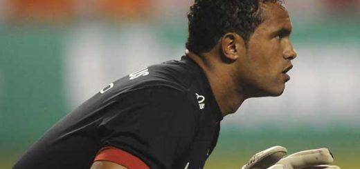Bruno, el arquero que mató a su novia y la dio de comer a sus perros, volverá a jugar fútbol | Foto: AFP