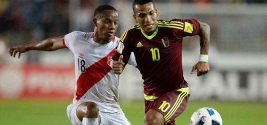 Venezuela empata 2-2 con la selección de Perú en el monumental de Maturín | Foto: AFP