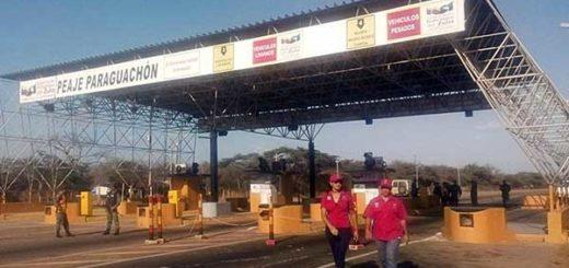 Reactivan operaciones de peaje de Paraguachón para paso hacia Colombia | Foto: NP