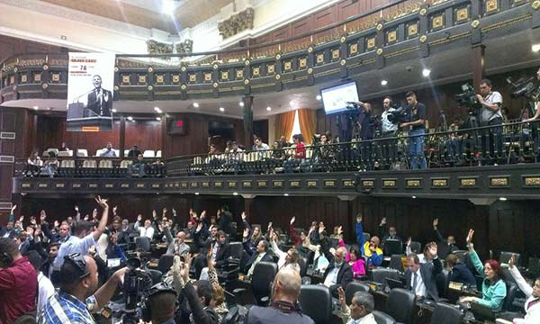 Asamblea Nacional declaró nulo presupuesto de la ANC | Foto: @AsambleaVe