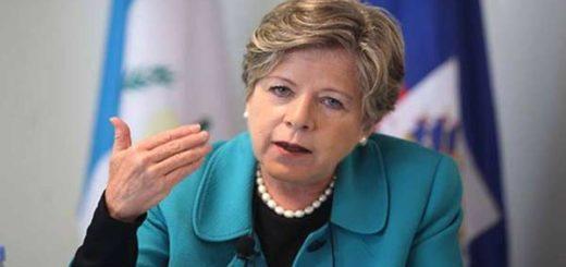 Alicia Bárcena, secretaria del Cepal |Foto: EFE