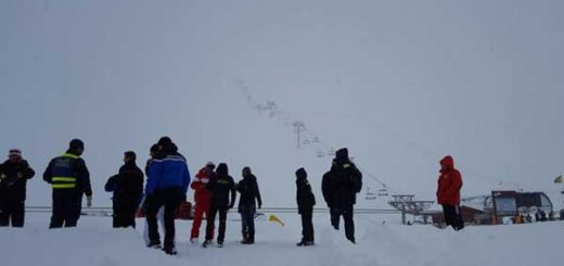 Alud en pista de esquí de los Alpes franceses no causó muertos | Foto: @Rus_Eng_News