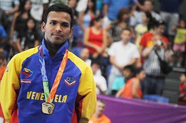 Andrés Madera se colgó la medalla de plata en el Abierto de Rotterdam, Holanda | Foto referencial (vía Twitter)