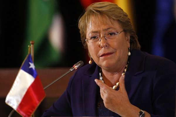 Michelle Bachelet, Presidenta de Chile | Foto cortesía