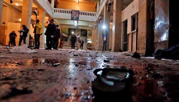 Un terrorista suicida explota en el Palacio de Justicia de Damasco | Foto: Agencias
