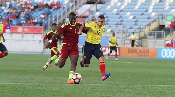 Venezuela iguala sin goles con Colombia en el hexagonal final Sub-17 | Foto: Twitter
