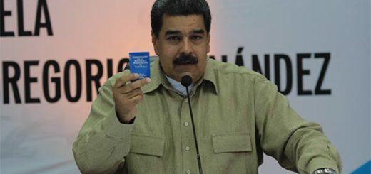 Presidente de la República, Nicolás Maduro   Foto: @PresidencialVen