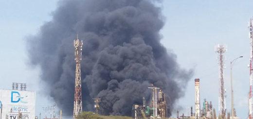 Incendio en Refíneria de Amuay