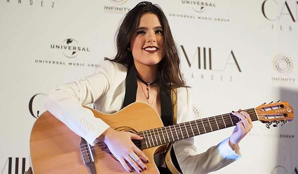 Camila Fernández se estrena al mundo como cantante |Foto: Caras