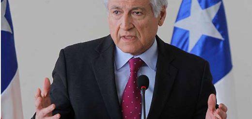 Canciller de Chile, Heralo Muñoz |Foto: Meridiano Noticias