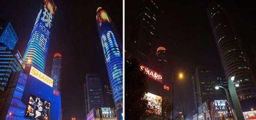 La Hora del Planeta también se presenció en China |Composición: Notitotal |Fotos crédito: Reuters