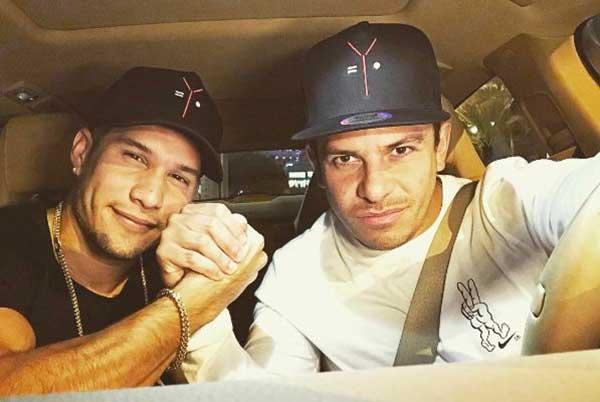 Chyno y Oscarcito trabajarán juntos en un nuevo proyecto musical | Foto: Instagram