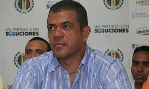 Diputado de Sucre, Goyo Noriega  Foto cortesía