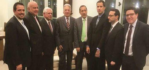 Parlamentarios de la AN sostienen encuentro con el ex presidente Fernando Cardoso |Foto: Nota de prensa
