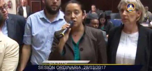 Diputados de la comisión asignada |Captura de video