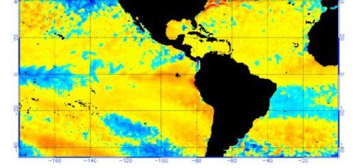 El Niño fenómeno meteorológico que afecta Suramérica  Foto: NOAA