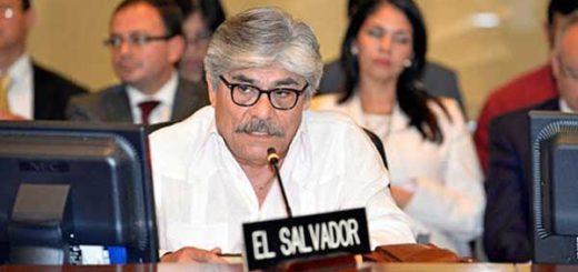 El Salvador abogó en la OEA por el diálogo en Venezuela | Foto referencial