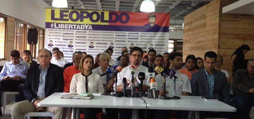 Voluntad Popular denunció que el gobierno busca ilegalizarlos | Foto: @VoluntadPopular