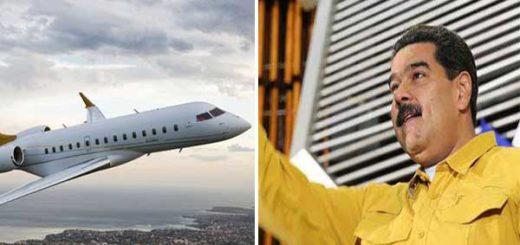 Maduro habría comprado dos aviones rusos de lujo para su uso   Composición