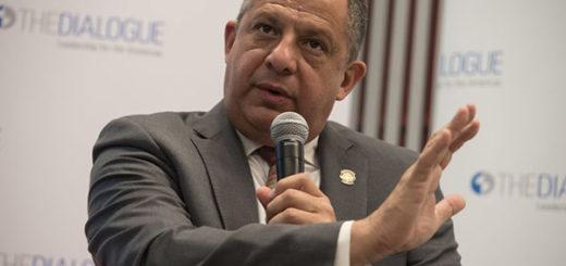 José Guillermo Solís, presidente de Costa Rica | Foto: AFP