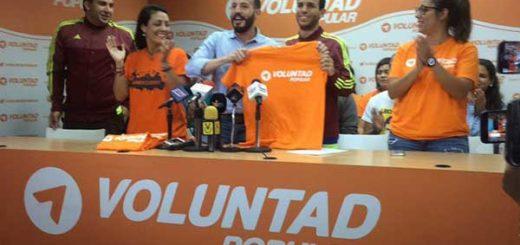 Hasler Iglesias se une a las filas de Voluntad Popular | Foto: La Patilla