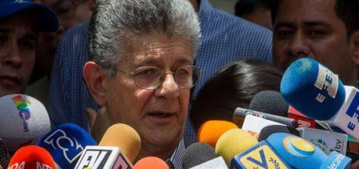 Henry Ramos Allup, diputado de la Asamblea Nacional |Foto: Nota de prensa