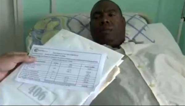 Hospitales cubanos entregan 'facturas simbólicas' a sus pacientes | Captura de video