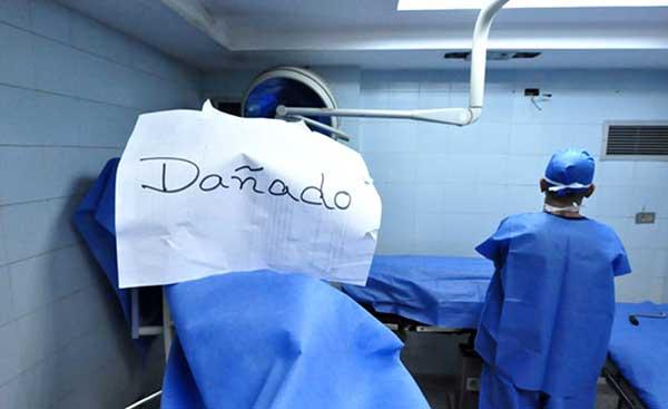 51% de los quirófanos en los hospitales públicos no están operativos | Foto: Agencias