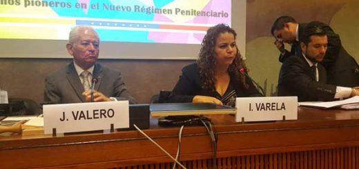 "Iris Varela presentó ""logros"" en materia penitenciaria ante la ONU | Foto: @onuginebravzla"