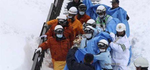 Avalancha en Japón causó la muerte de 8 personas |Foto: EFE