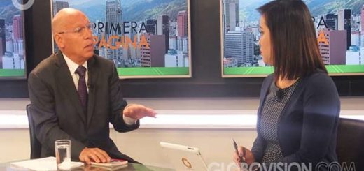 José Gregorio García, Secretario del partido Unidad Democrática Renovadora |Foto: Globovisión