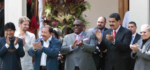 En peligro de extinción, los líderes del ALBA piensan un nuevo relato | Foto: @DPresidencial