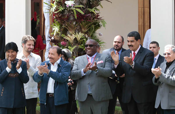 En peligro de extinción, los líderes del ALBA piensan un nuevo relato   Foto: @DPresidencial