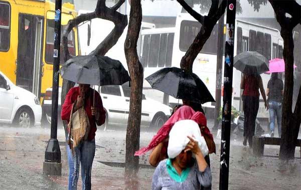 Inameh prevé lluvias dispersas |Foto: Últimas Noticias