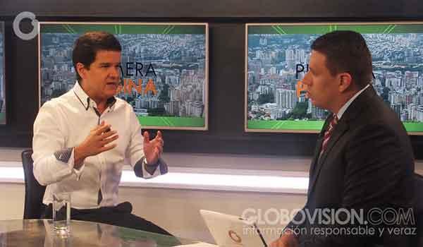 Luis Romero, secretario general de Avanzada Progresista  Foto: Globovisión