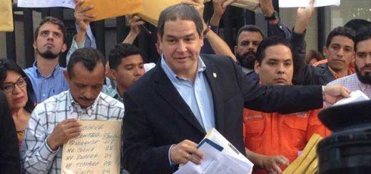 Florido consignó documento en la OEA para pedir protección de los activistas de VP | Foto: La Patilla