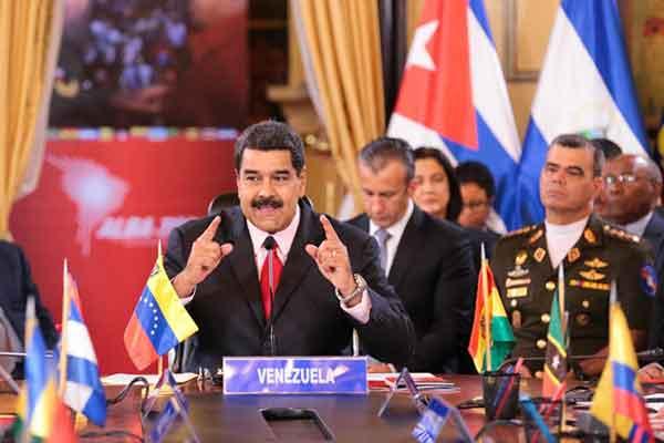 Nicolás Maduro encabeza la XIV Cumbre Alba |Foto: prensa presidencial