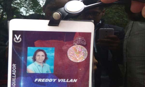 Freddy Villan fue asesinado dentro de su casa en Catia  Foto: Altagracia Anzola