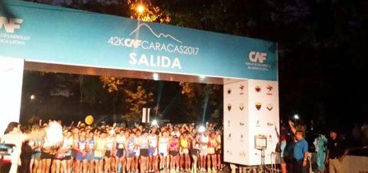El maratón inició a las 6: 00 am de este domingo |Foto: @Maraton_CAF