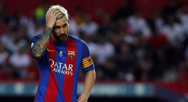 Messi es condenado a 21 meses de cárcel  Foto archivo