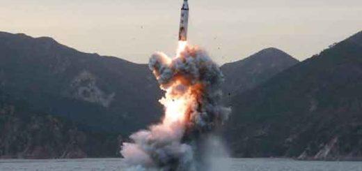 Corea del Norte lanza misil |Foto referencial, crédito: EPA/KCNA