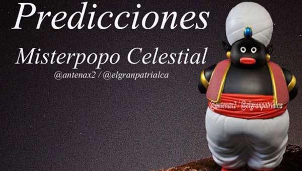 Los vaticinios de Misterpopo |Foto cortesía