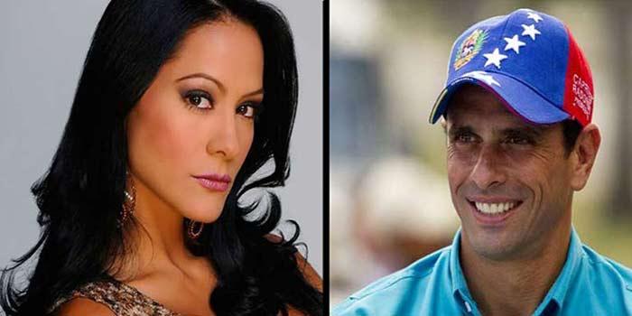 Venezolanos estiman que Capriles y Norkys harían bonita pareja |Composición: Notitotal