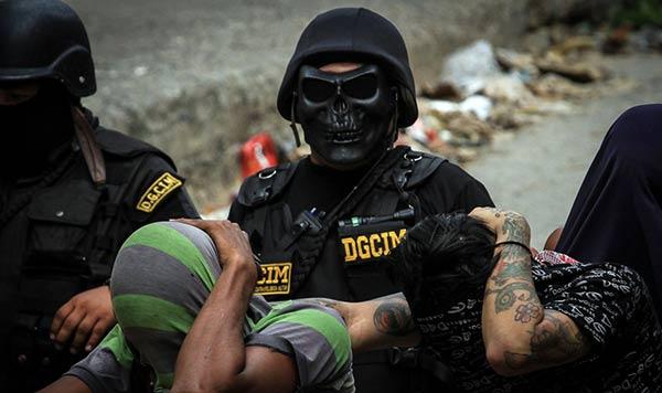Nueva máscara de la OLP | Foto: C. Ramírez
