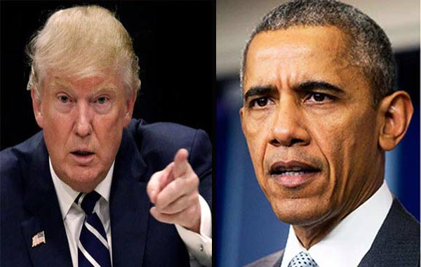 "Donald Trump acusa a Obama de ""pinchar"" su teléfono | Composición Notitotal"