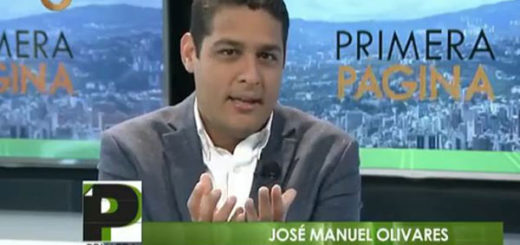 José Manuel Olivares | Captura de video